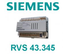 Ekvitermní regulátor RVS 43.345